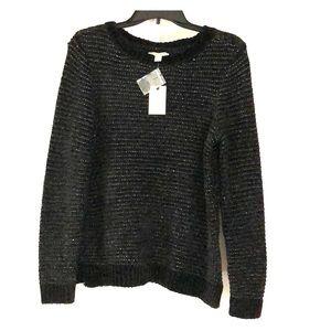 😊Dana Buchman Women's LS Chenille Sweater Size S